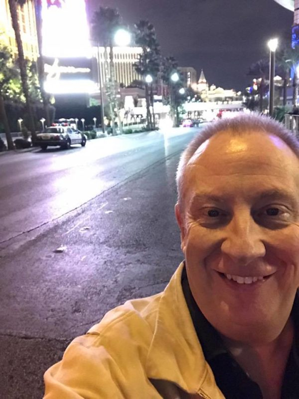 happy new year from the las vegas strip closed to traffic for the night the mike gallagher show